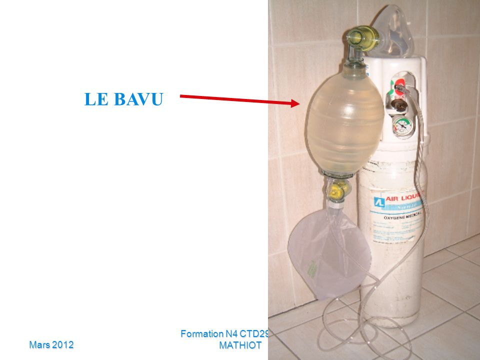 Mars 2012 Formation N4 CTD29 Daniel MATHIOT LE BAVU