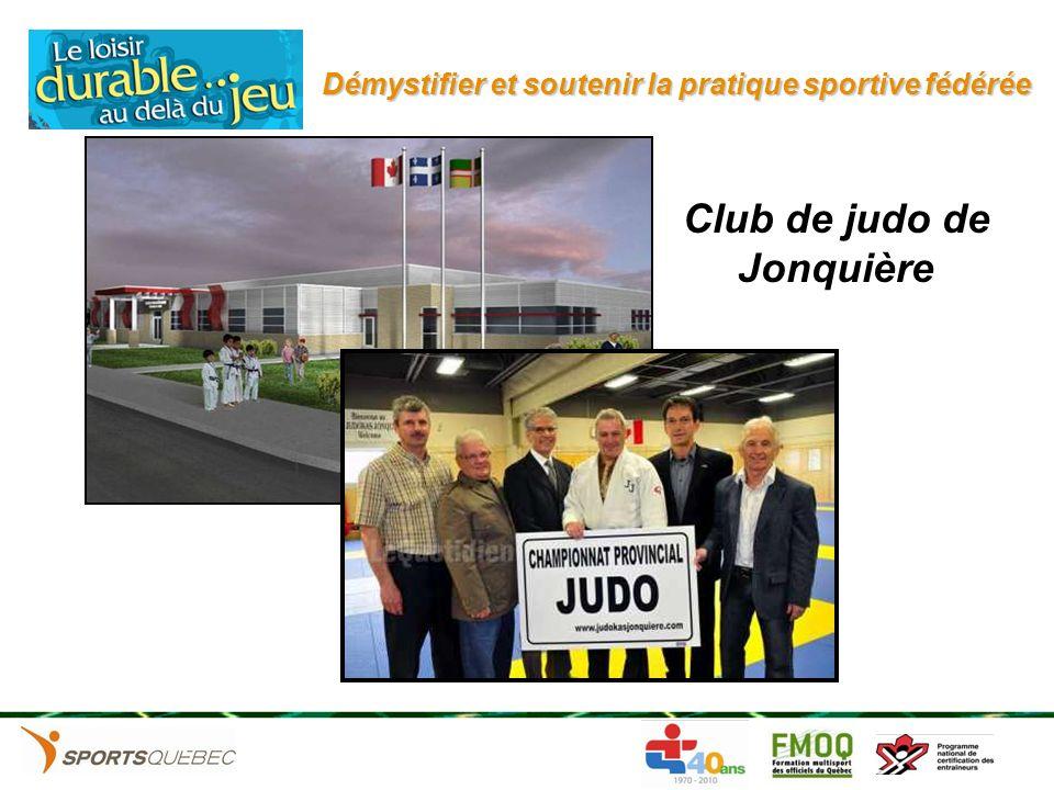 Club de judo de Jonquière