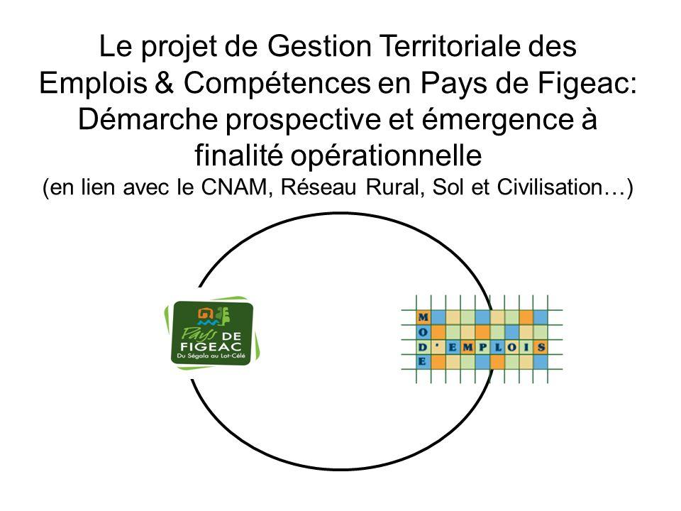 Le projet de Gestion Territoriale des Emplois & Compétences en Pays de Figeac: Démarche prospective et émergence à finalité opérationnelle (en lien av