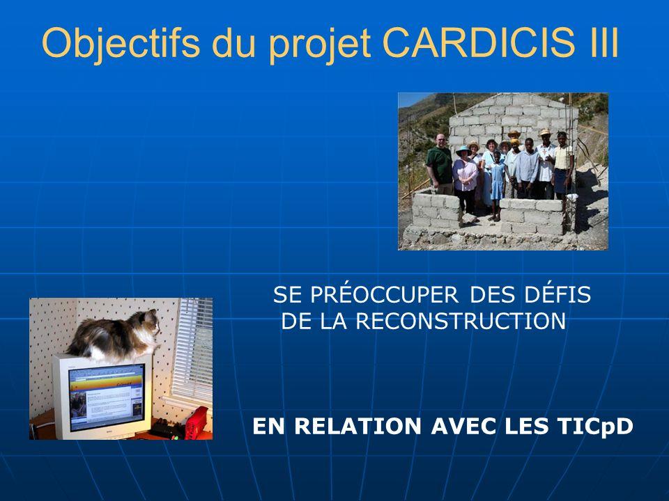 CARDICIS Une identité: la Caraïbe Un sujet: la société de linformation Un projet: étapes I, II, III Une démarche: la culture au centre Un processus en marche Une vision : intégration de la Caraïbe