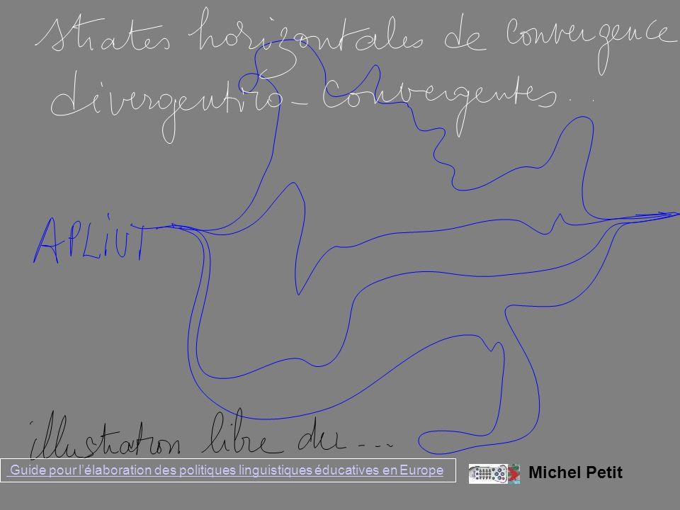 Michel Petit Guide pour lélaboration des politiques linguistiques éducatives en Europe