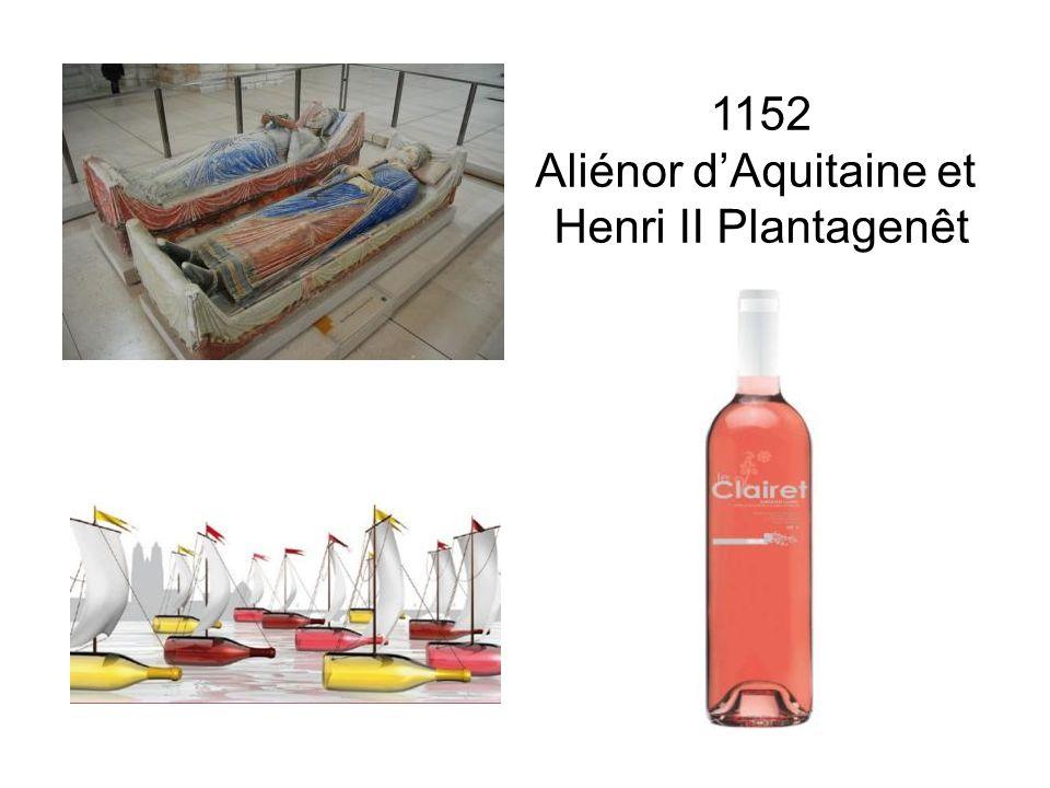 1152 Aliénor dAquitaine et Henri II Plantagenêt
