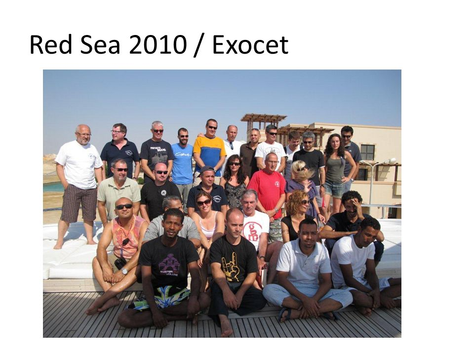 Red Sea 2010 / Exocet