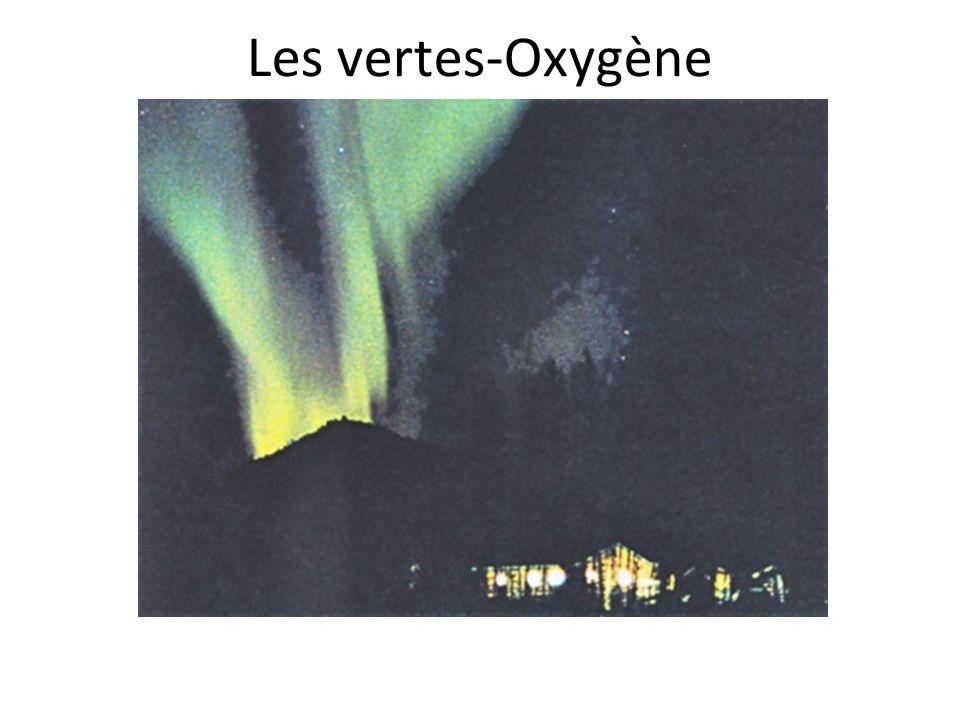Les vertes-Oxygène