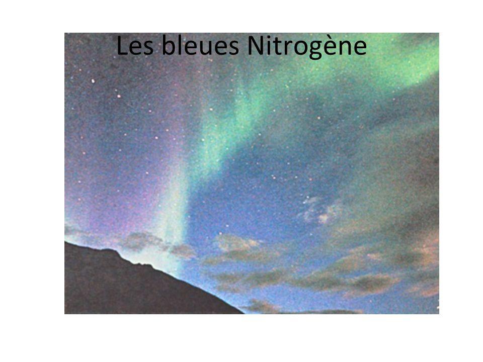 Les bleues Nitrogène