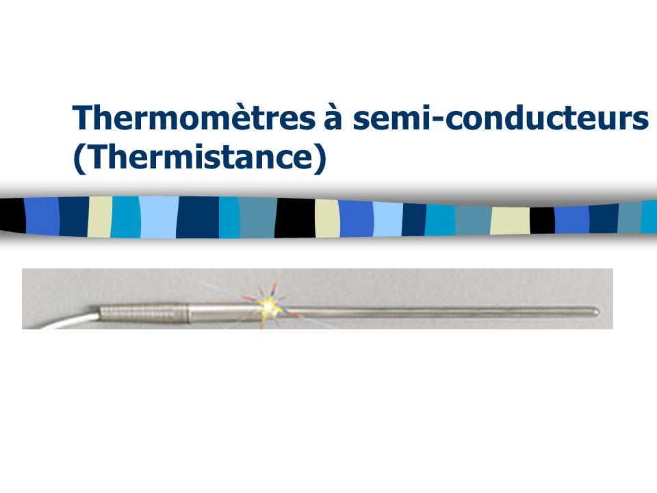 Thermomètres à semi-conducteurs (Thermistance)
