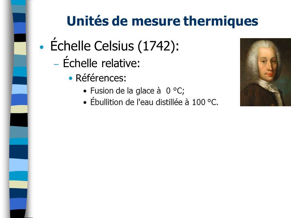 Pyromètres à dilatation de solide Existe en deux versions: – Pyromètre à tige (mesure de la dilatation linéaire d une tige): –Mesure jusqu à 1000 °C.