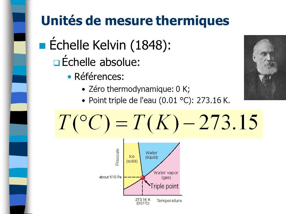 Loi de Newton: h = constante de convection W/(m 2.K); A = Section (m 2 ).