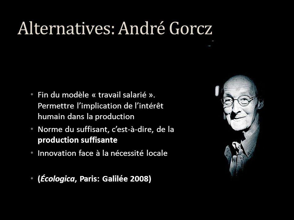 Alternatives: Les trois écologies Vers une écosophie Guattari Félix, 1989, Les trois écologies, Paris, Galilée.