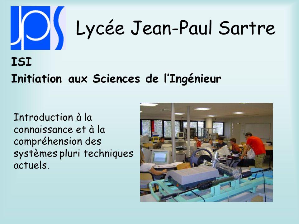 Lycée Jean-Paul Sartre Méthodes et Pratiques Scientifiques Mise en œuvre dune démarche scientifique.