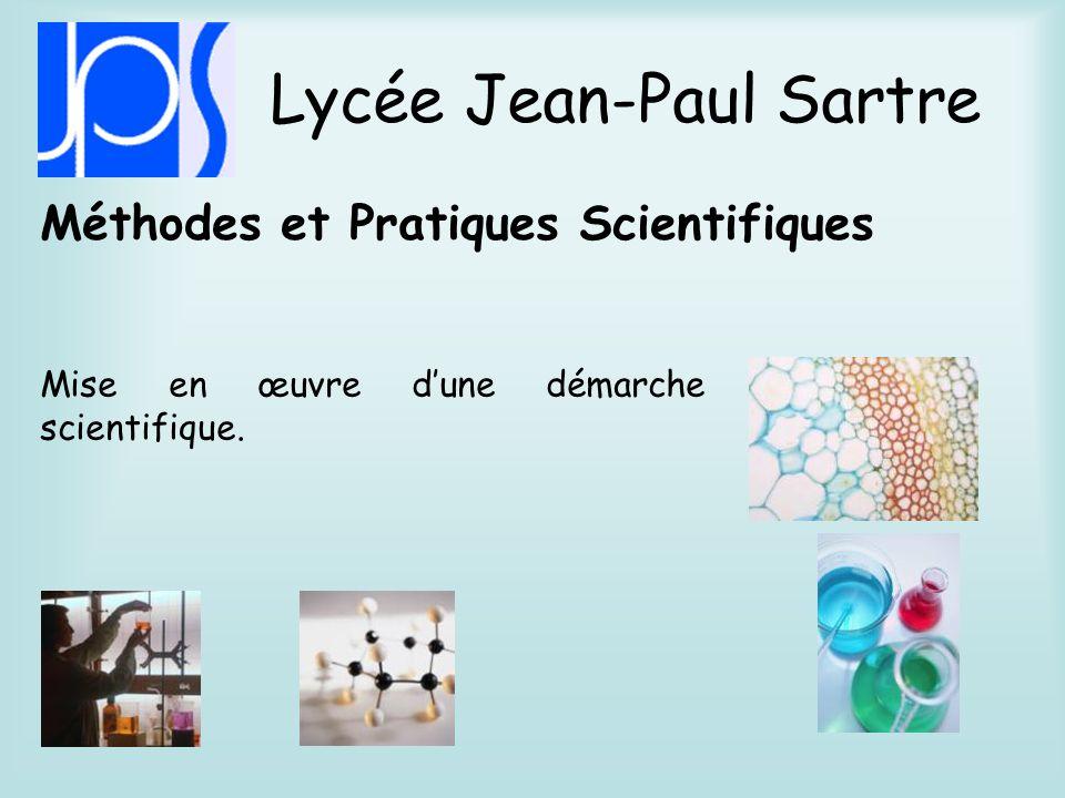 Lycée Jean-Paul Sartre Littérature et société Faire prendre conscience que les études littéraires sont au cœur de la formation de lhomme et du citoyen.
