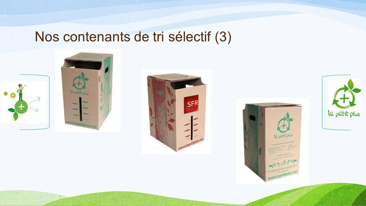 Nos contenants de tri sélectif (3)