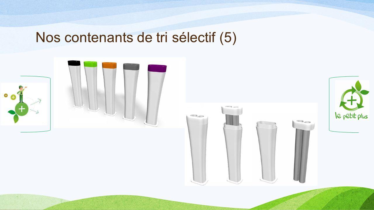 Nos contenants de tri sélectif (5)