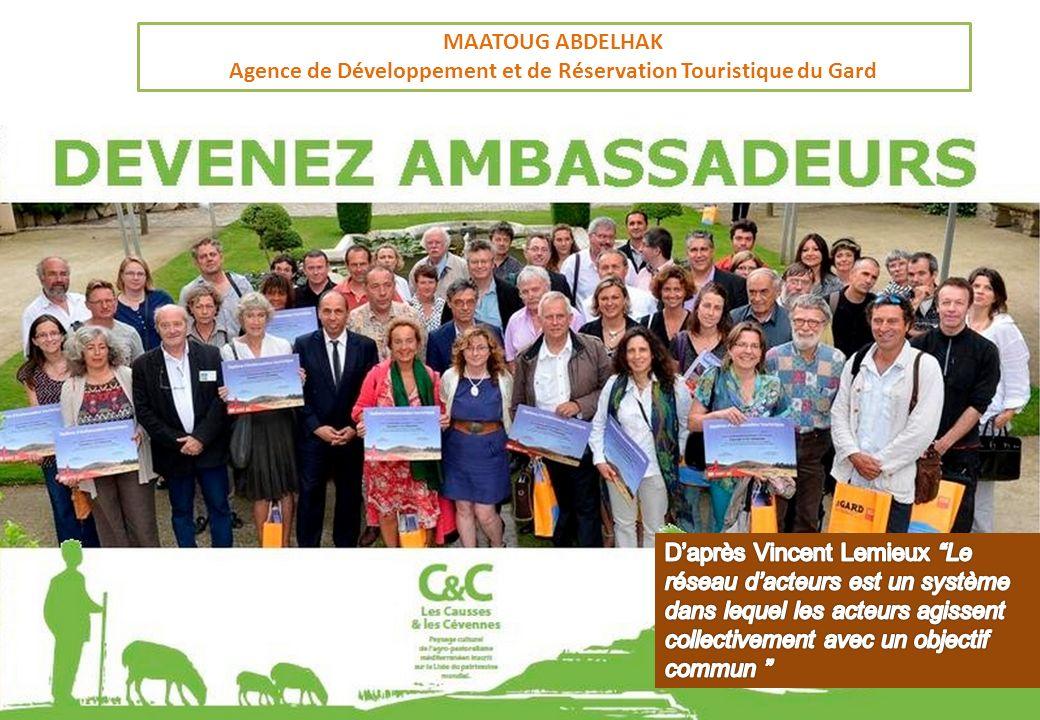 MAATOUG ABDELHAK Agence de Développement et de Réservation Touristique du Gard