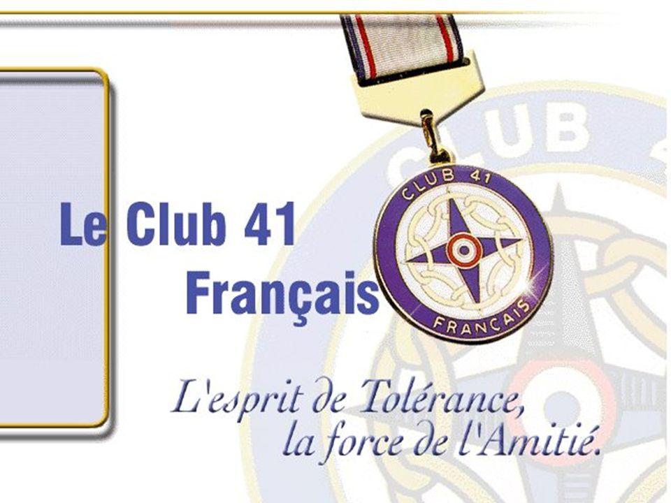 Le Club 41 Français est entré en formation en 1959 à BREST quand, Maurice Fidelaire et Pierre Le Bris, avec un groupe damis, anciens de la Table Ronde de Brest, décident de créer le Club 41 de Brest.