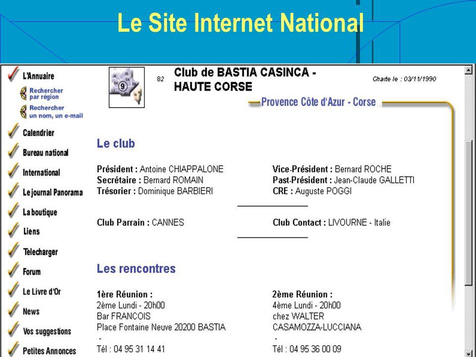 Le Site Internet National