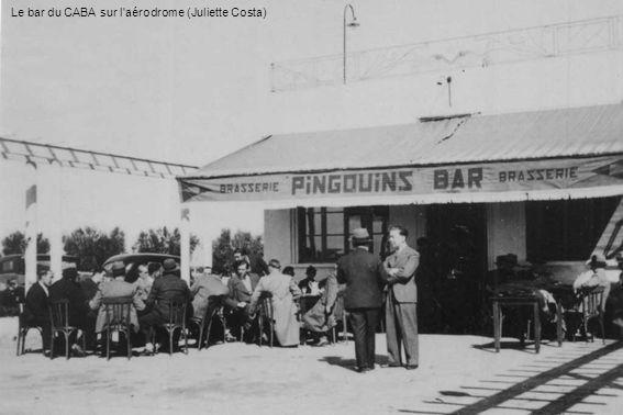 Le bar du CABA sur l'aérodrome (Juliette Costa)