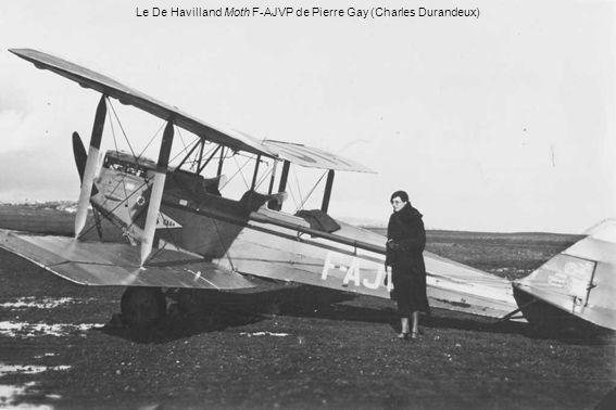 Le De Havilland Moth F-AJVP de Pierre Gay (Charles Durandeux)