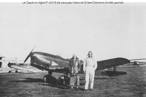 Le Caudron Aiglon F-ANYS de Jacques Valero et Gilbert Delorme (André Laumet)