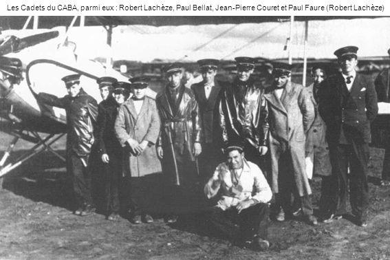 Les Cadets du CABA, parmi eux : Robert Lachèze, Paul Bellat, Jean-Pierre Couret et Paul Faure (Robert Lachèze)