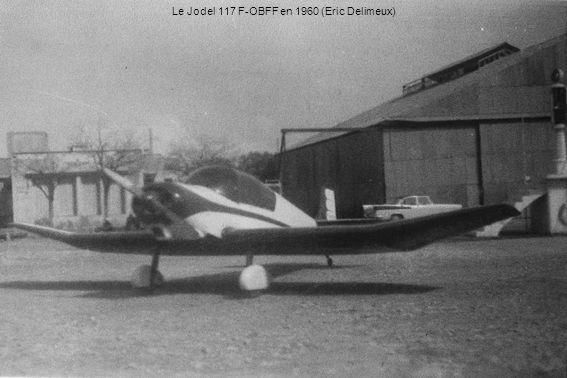Le Jodel 117 F-OBFF en 1960 (Eric Delimeux)