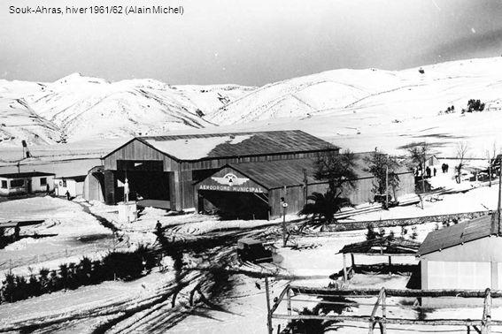 Souk-Ahras, hiver 1961/62 (Alain Michel)