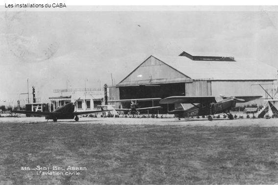 En juin 1933, Lucien Scalone à Souk-Ahras dans le Potez 36 F-ALYM de l Aéro-club de Constantine (Lucien Scalone)