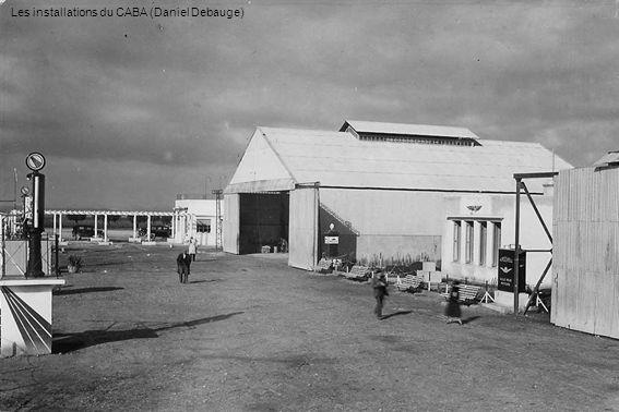 Le 26 septembre 1954, baptême du Jodel 112 F-BFTG Chef-pilote Albert Monville (Cécile Alberge)