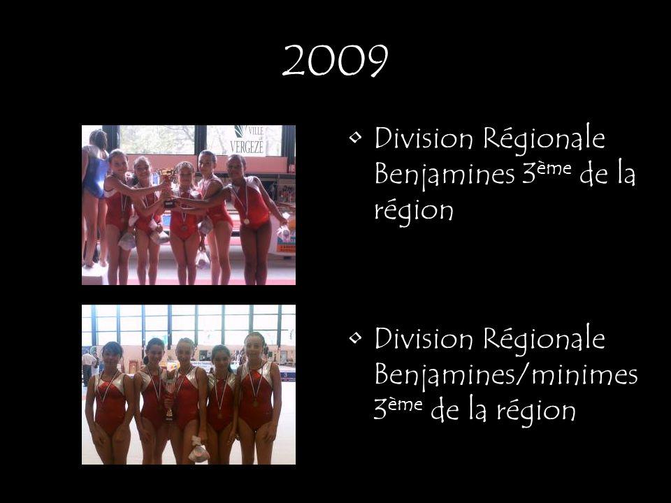 Division Régionale Benjamines 3 ème de la région Division Régionale Benjamines/minimes 3 ème de la région