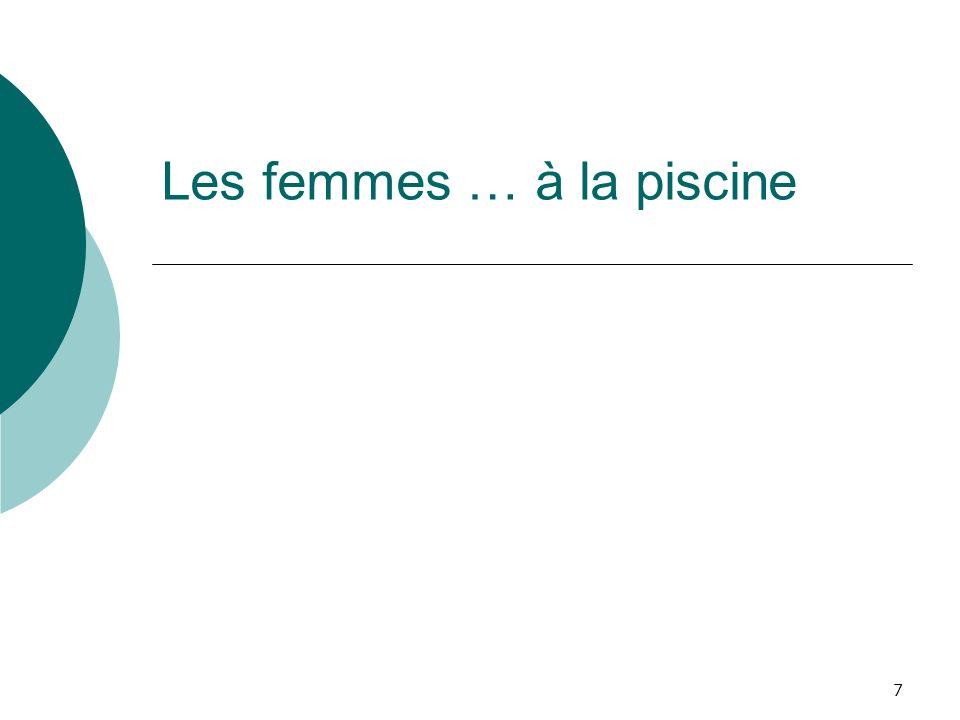 2011 ASPTT Section Plongée Subaquatique Femmes et plongées28 Question 3 : Pour quelles raisons avez-vous décider de rejoindre un club.