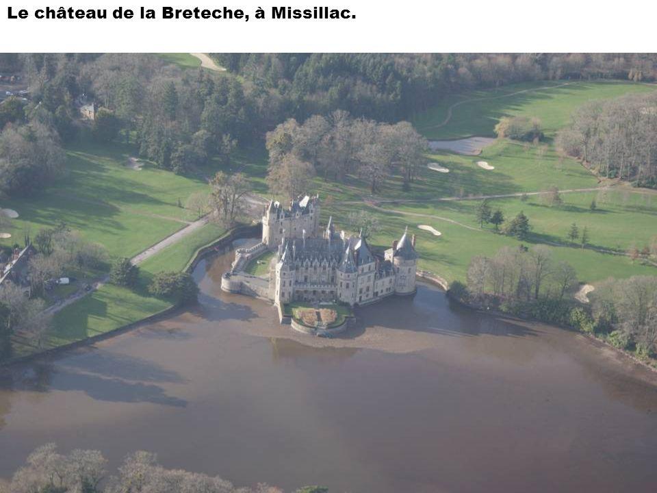 Le château de la Breteche, à Missillac.