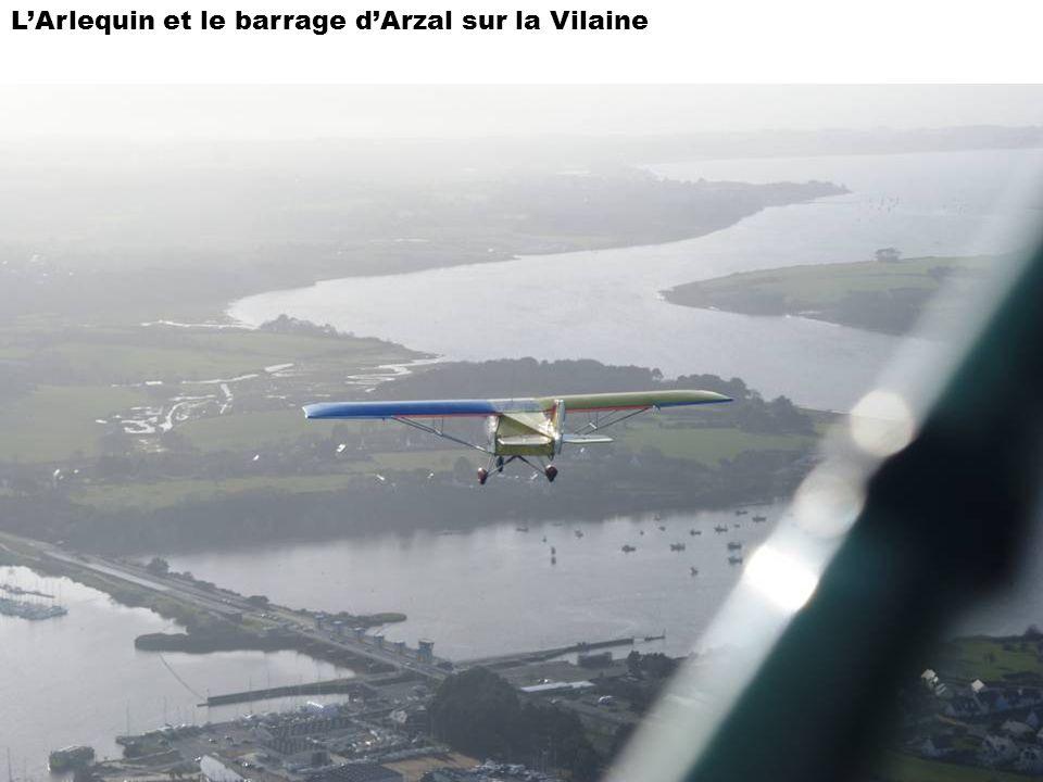 LArlequin et le barrage dArzal sur la Vilaine