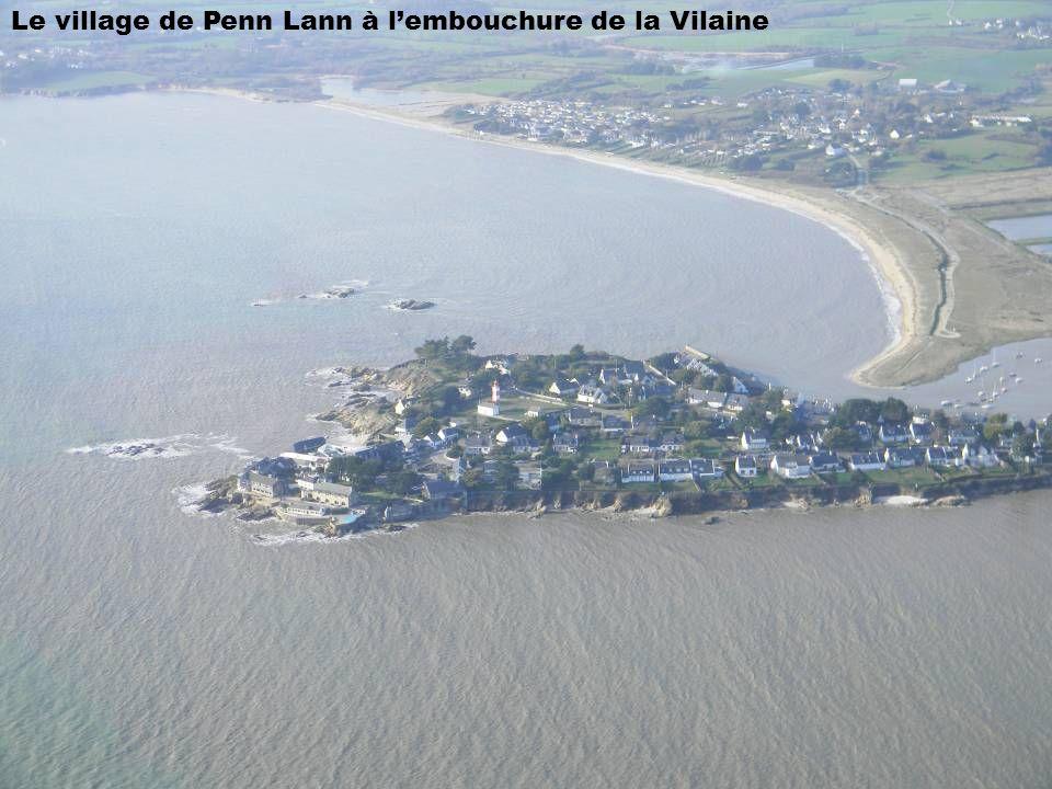 Le village de Penn Lann à lembouchure de la Vilaine