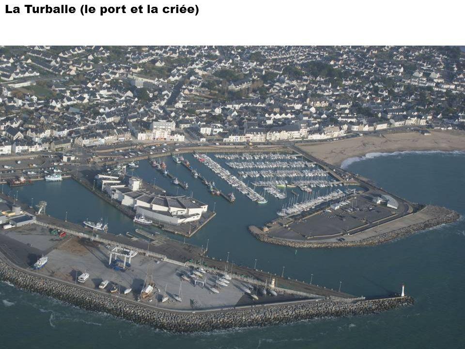 La Turballe (le port et la criée)