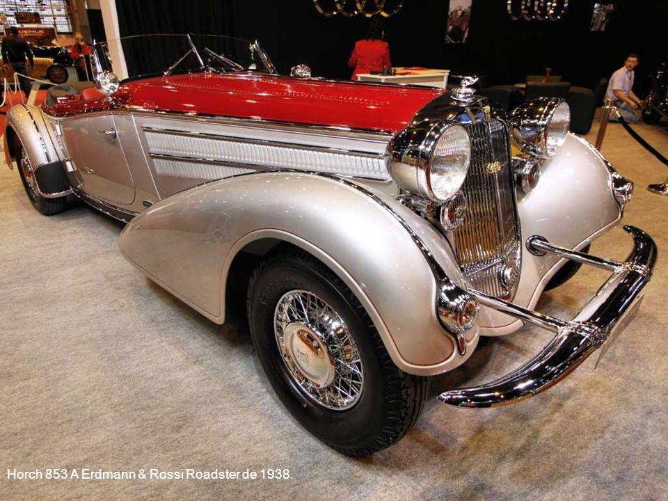 Alfa Romeo 8C2300 Pininfarina Spider- Cabriolet de 1933.