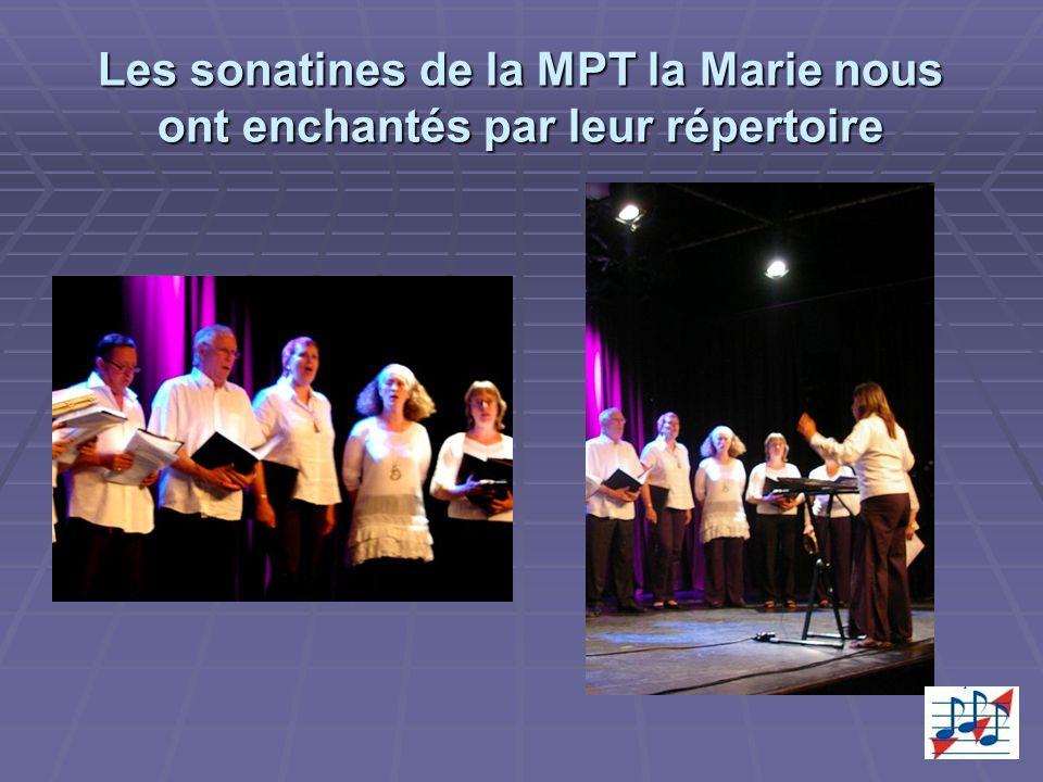 Les sonatines de la MPT la Marie nous ont enchantés par leur répertoire