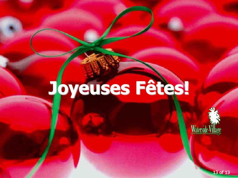 13 of 13 Joyeuses Fêtes!