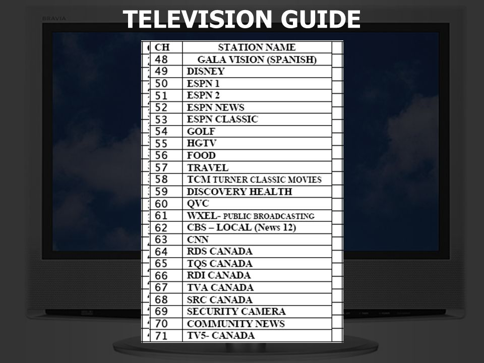 5 of 13 TELEVISION GUIDE