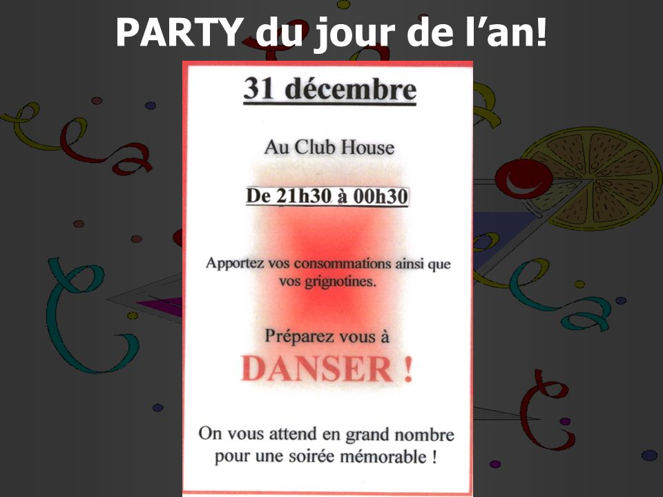 10 of 13 Important Mass hours at the Club House - december 19 9h30 A.M.