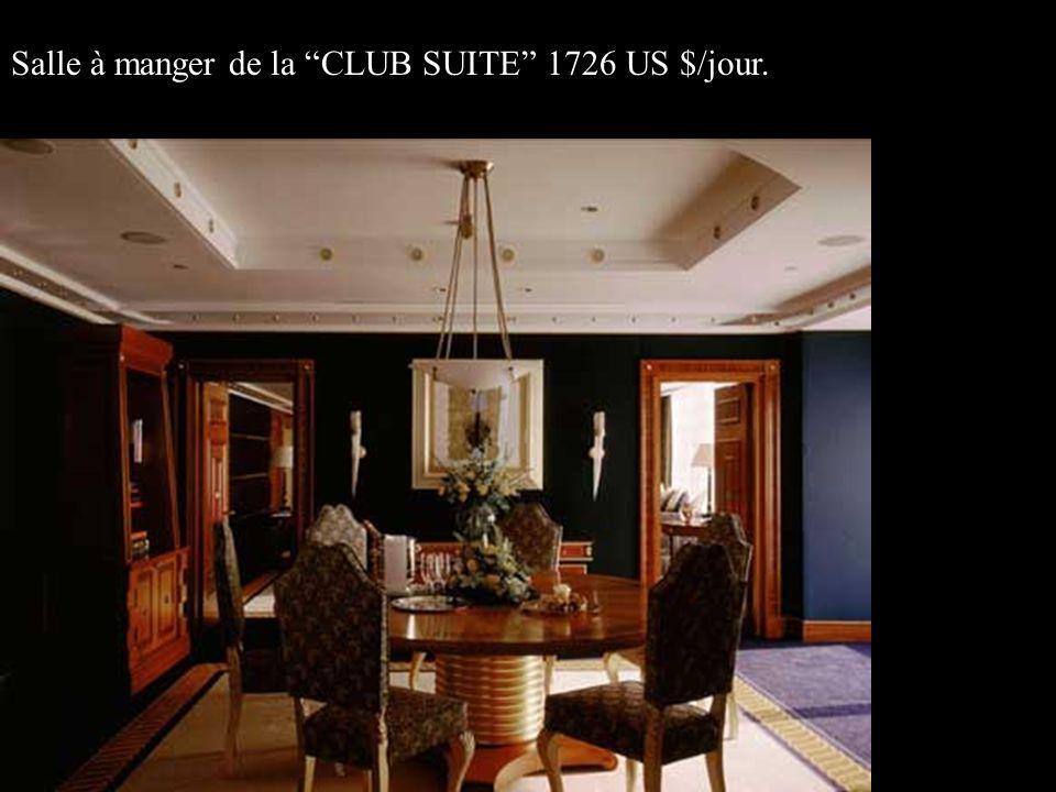 Salle à manger de la CLUB SUITE 1726 US $/jour.