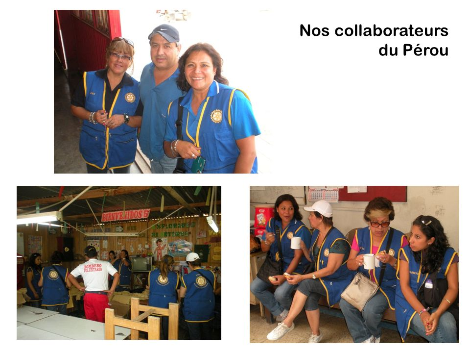 Nos collaborateurs du Pérou
