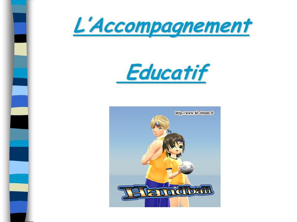 LAccompagnement Educatif Educatif