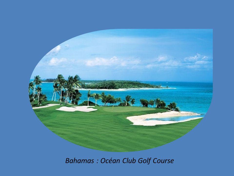 Océan Club Golf Course dans le Paradise Island aux Bahamas