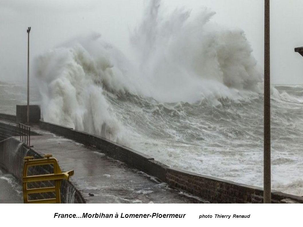 France...Morbihan à Lomener-Ploermeur photo Ouest-france