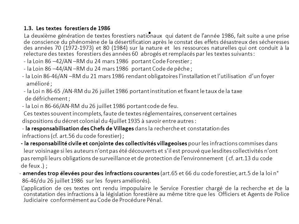 Lexercice des droits dusage dans le domaine forestier classé (cf.