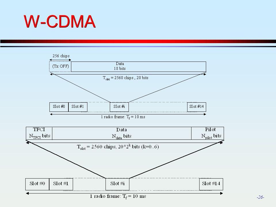 -26- W-CDMA