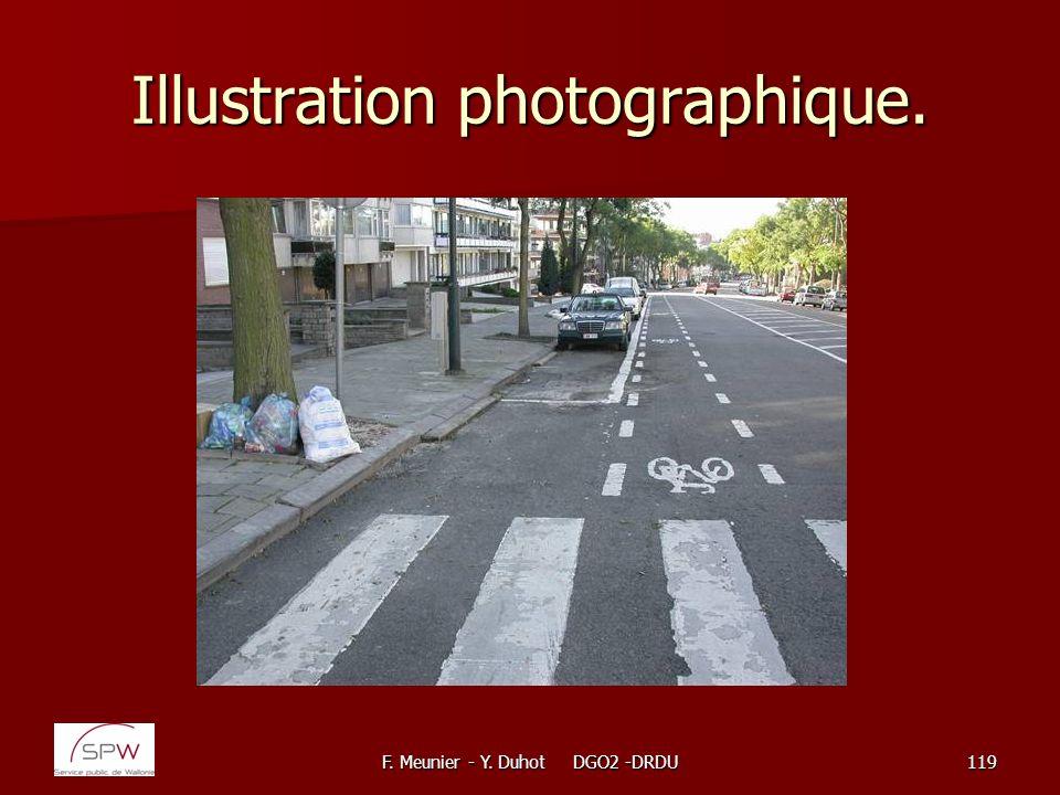F. Meunier - Y. Duhot DGO2 -DRDU119 Illustration photographique.