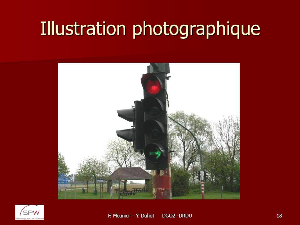 F. Meunier - Y. Duhot DGO2 -DRDU18 Illustration photographique