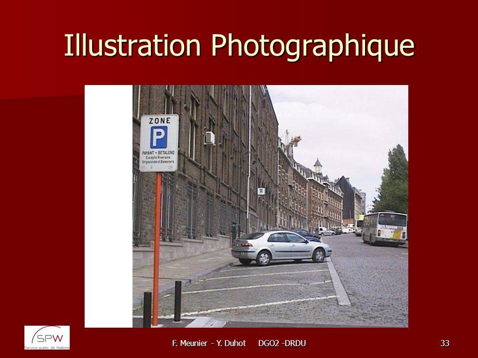 F. Meunier - Y. Duhot DGO2 -DRDU33 Illustration Photographique