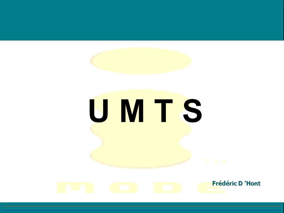 L architecture de l UMTS - Réseau cœur GSM / UMTS très similaires - Réseau d Accès: RNC (Radio Network Controller) Equivalent BSC Node B Equivalent BTS